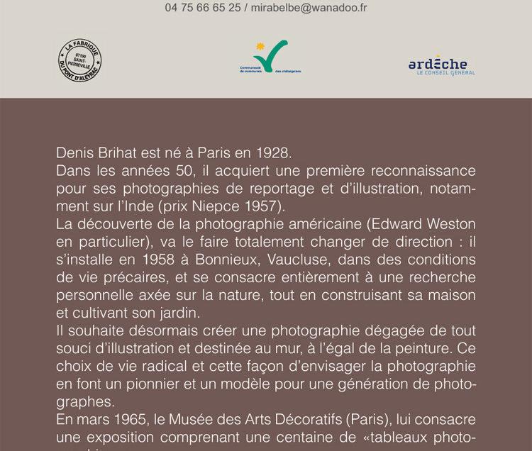 Exposition à La Fabrique du Pont d'Aleyrac